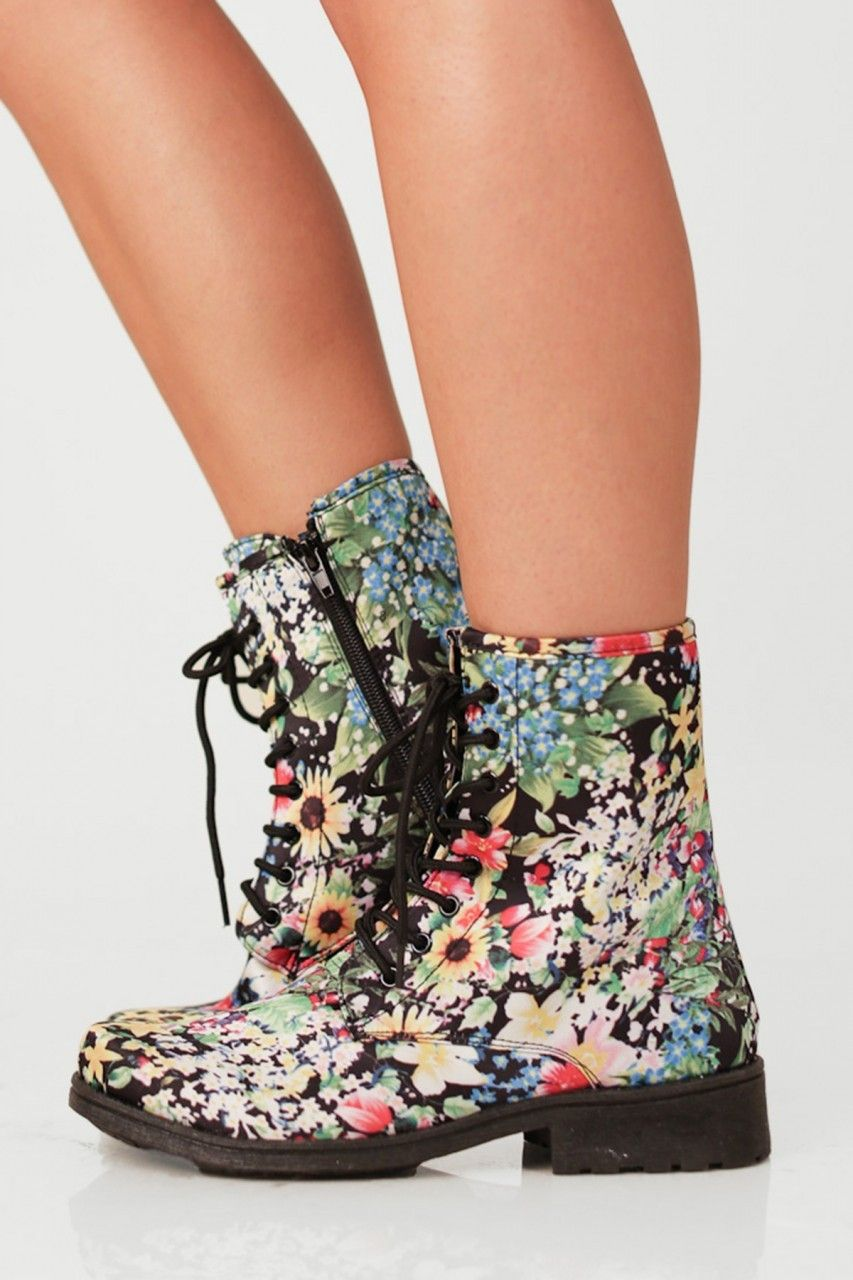 Combat Boots For Teenage Girls - Boot Hto