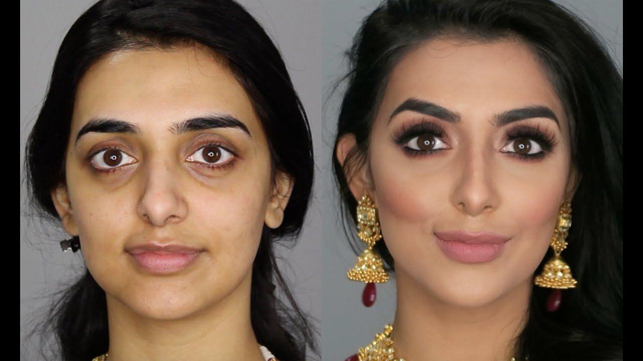 South Asian Bridal Makeup Love The Soft Blue Makeup
