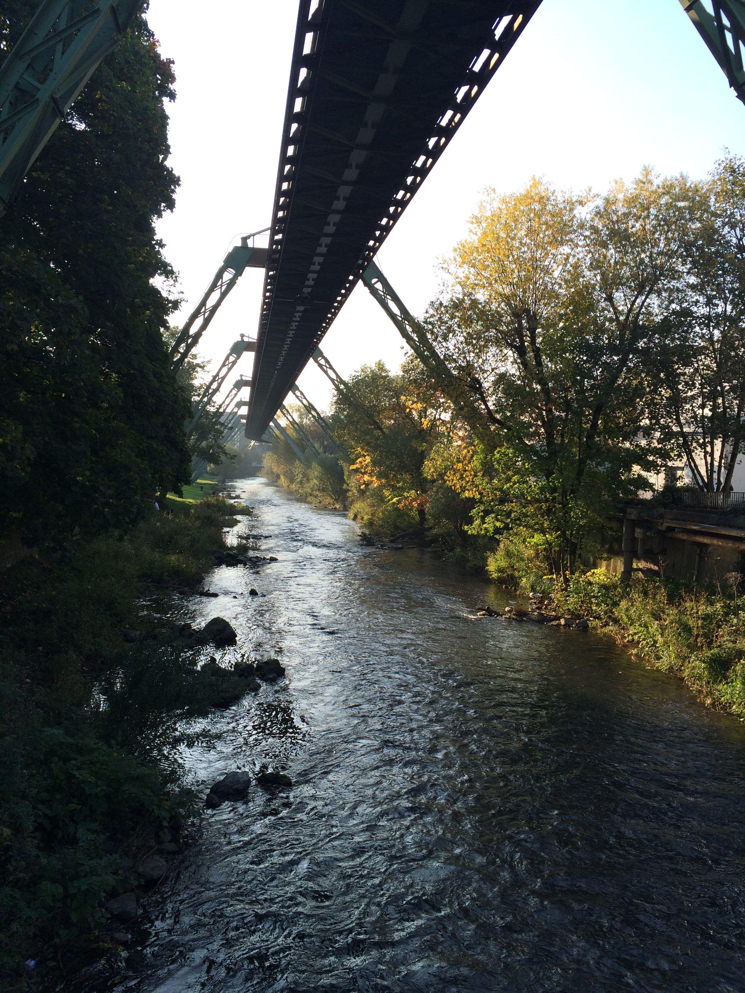 Schwebebahn Wuppertal Germany Wuppertal Wuppertal Germany Reisen
