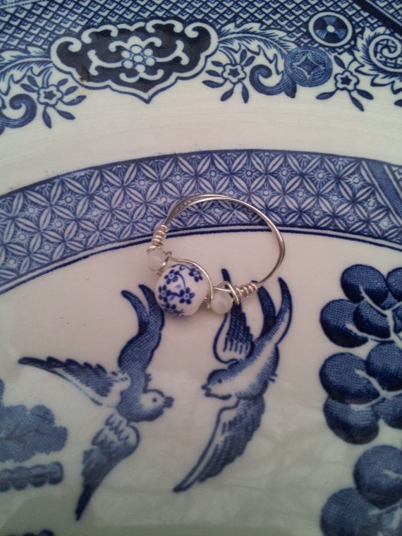 Hey, I found this really awesome Etsy listing at https://www.etsy.com/listing/186176817/blue-willow-ring-mother-of-pearl-jewelry