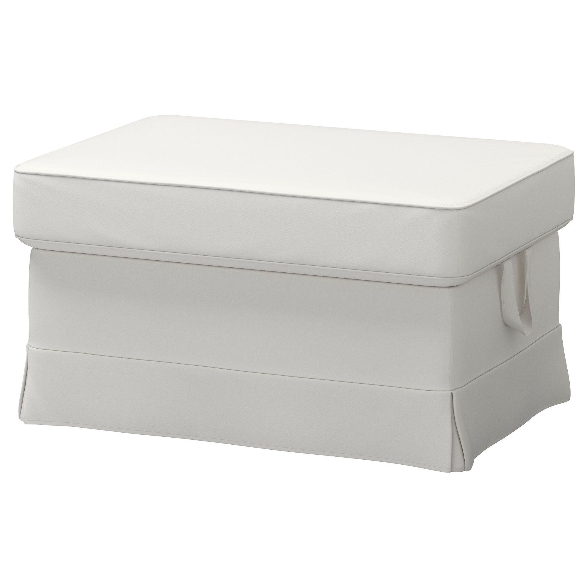 Ektorp Footstool Vittaryd White With Images Ikea Ektorp Quality Living Room Furniture Ikea Ottoman