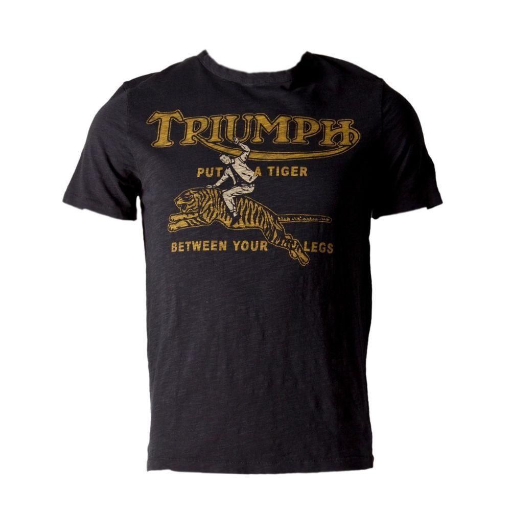Triumph Johnson Motors Tiger T Shirt Men 39 S Motors And
