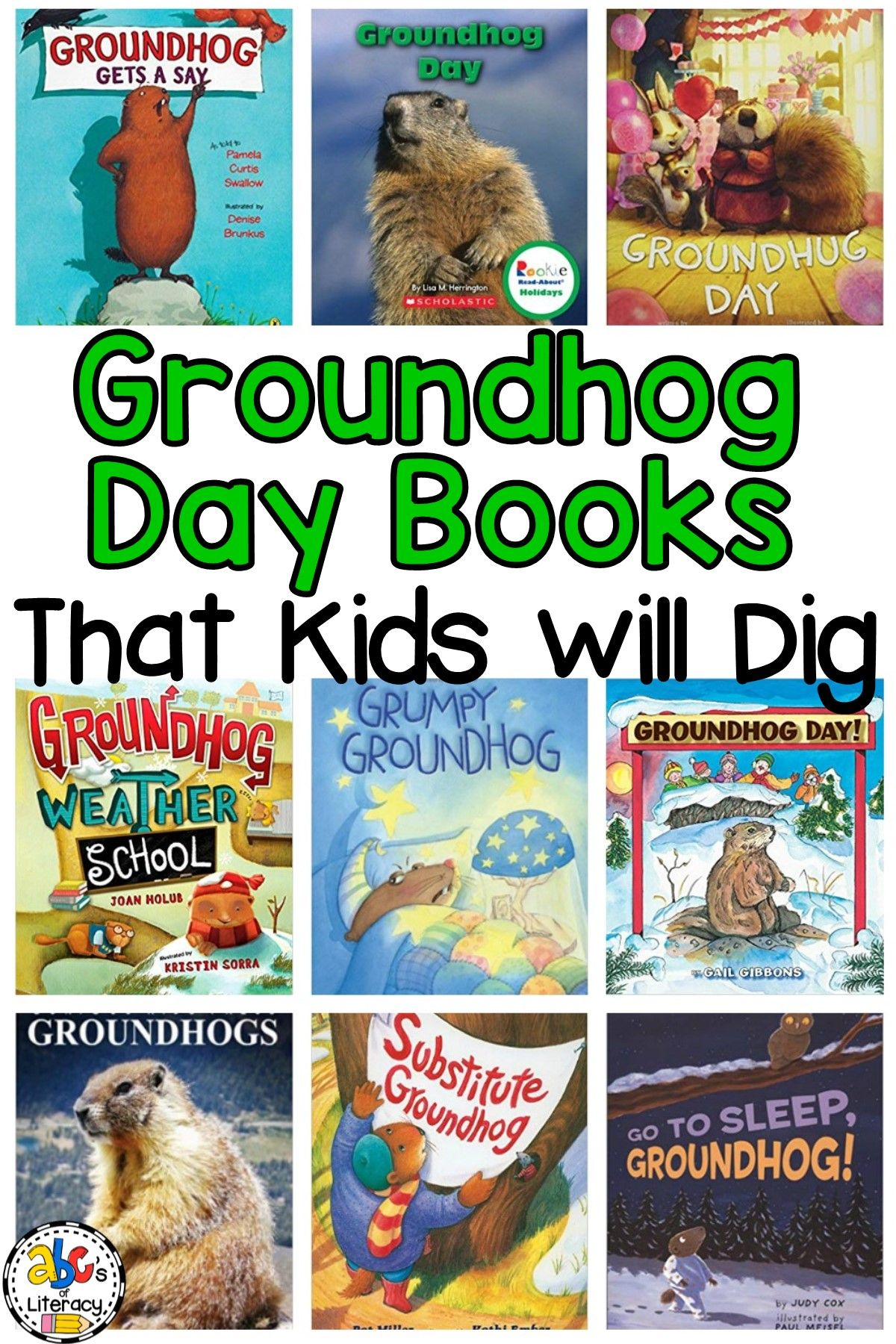 Groundhog Day Books That Kids Will Dig For Groundhog S Day