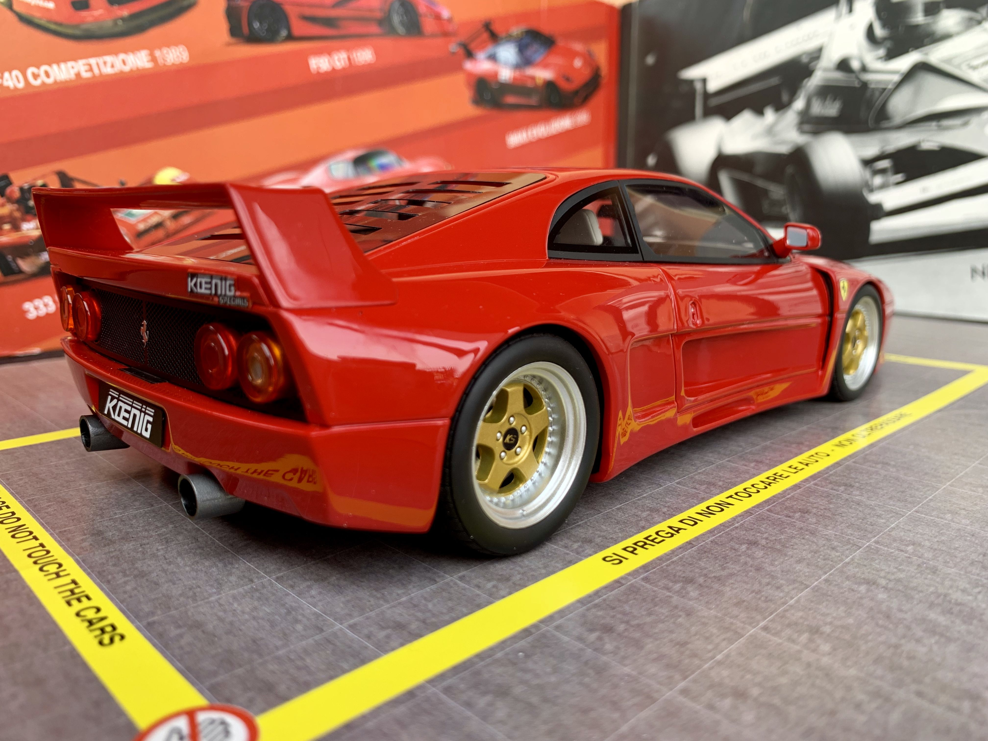 Ferrari F48 Koenig Specials By Gt Spirit 1 18 N 348 999 Minichamps