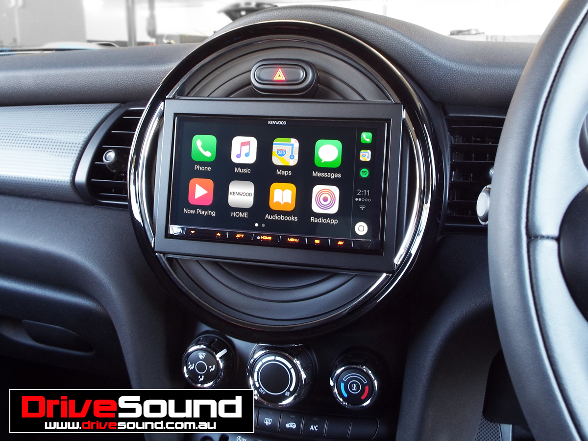 Mini Cooper With Le Carplay Installed By Drivesound