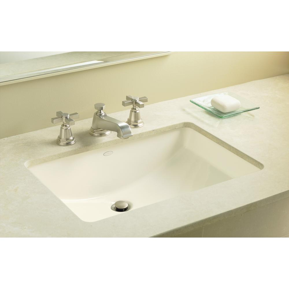 KOHLER Ladena 23 1/4 in. Undermount Bathroom Sink in White with