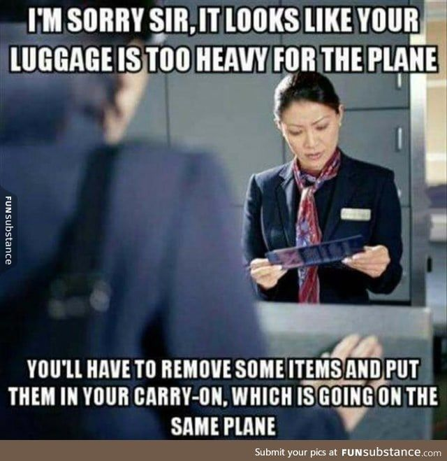 Anyone who works in an airline and can explain this? - FunSubstance