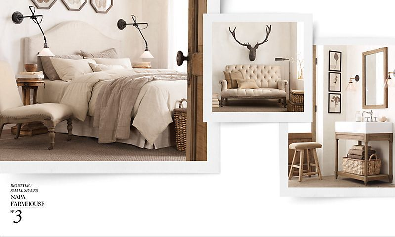Big Style Small Spaces | Restoration Hardware - Ideas for the country antique house. & Big Style Small Spaces | Restoration Hardware - Ideas for the ... azcodes.com