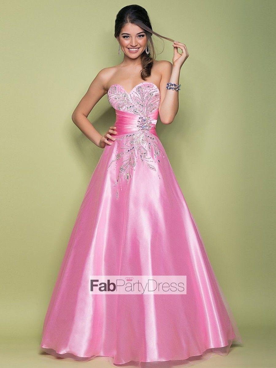 4782969877b5 2013 Style Ball Gown Sweetheart Beading Sleeveless Floor-length Tulle Prom  Dresses / Evening Dresses (SZ0300097) - FabPartyDress.com