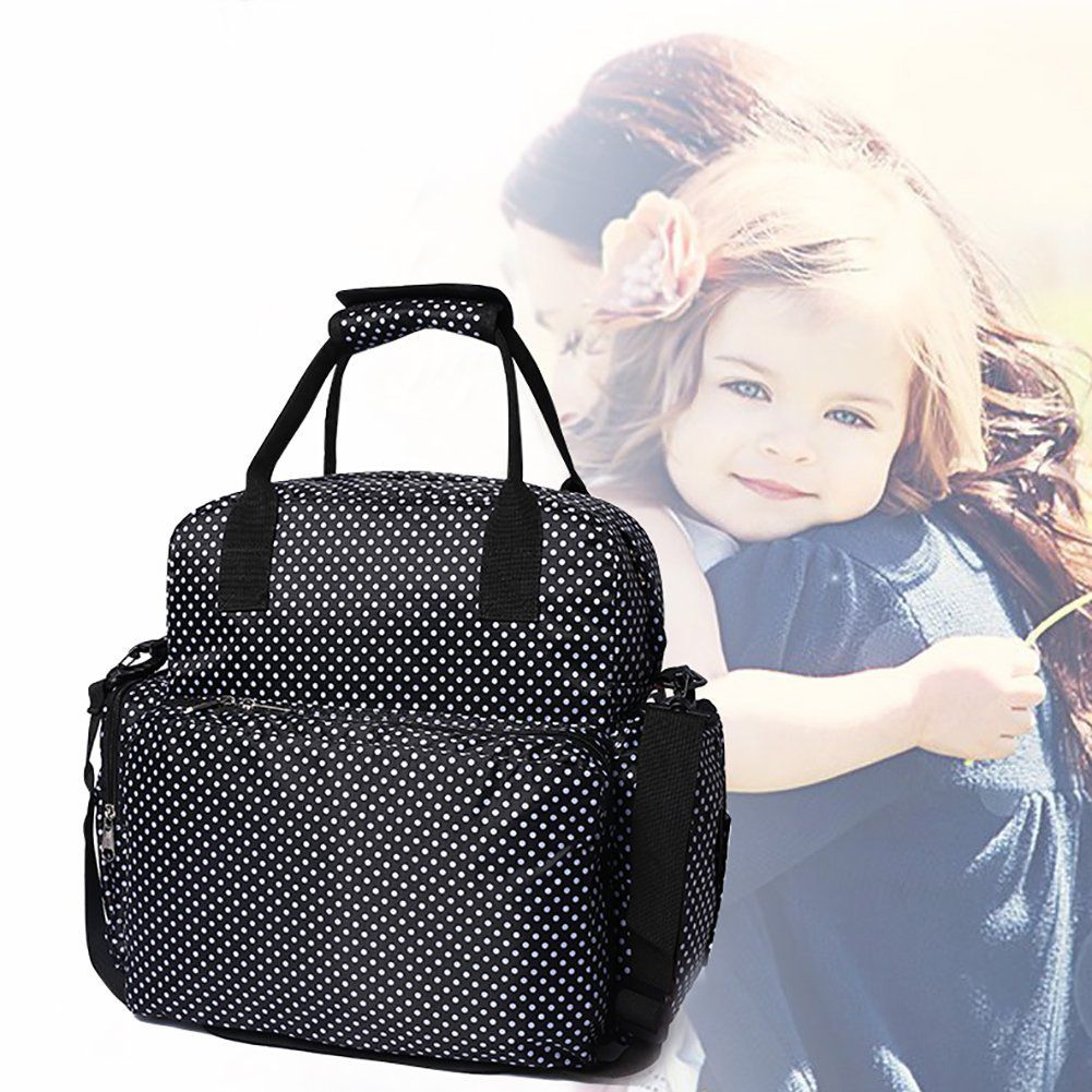 04dd6ce165 hospital bag - FIGESTIN Upgraded Baby Diaper Backpack Purse Waterproof  Antitheft Mummy Nappy Travel Bag with Changing Pad And Stroller …