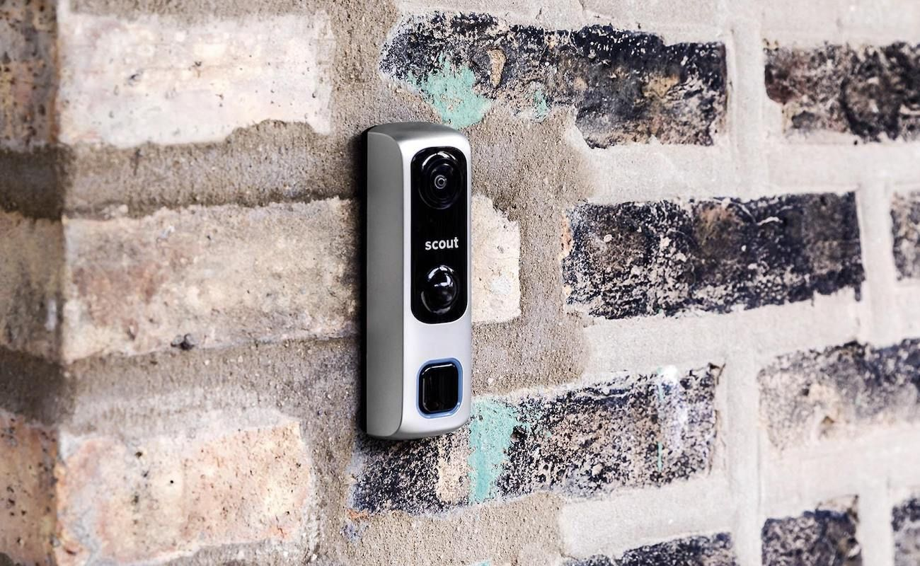 Scout Video Doorbell Home Alarm Provides 180 Field Of View In 2020 Fancy Gift Ideas Home Alarm Best Smart Home
