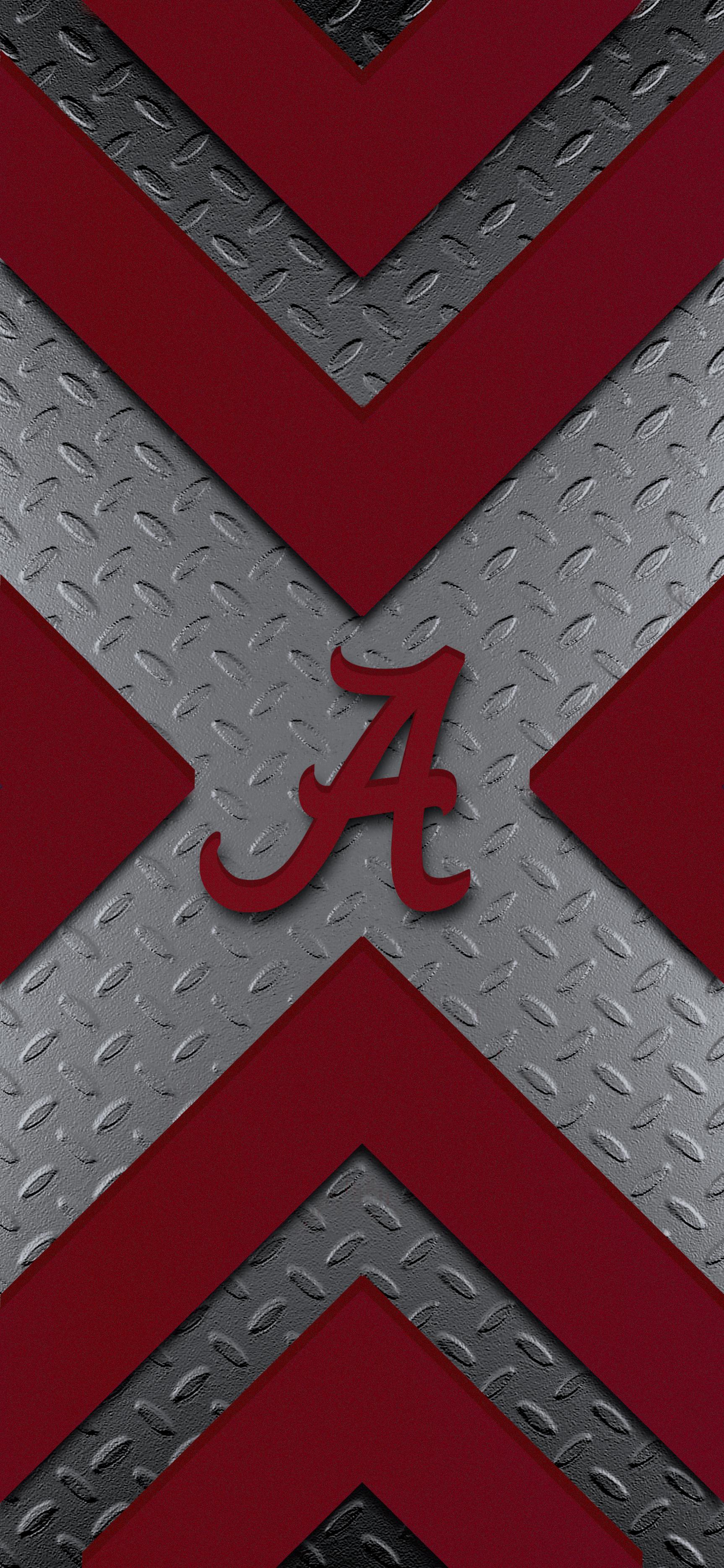 Modern Design 4 Metal Alabama Crimson Tide Football Wallpaper Alabama Wallpaper Alabama Crimson Tide Football