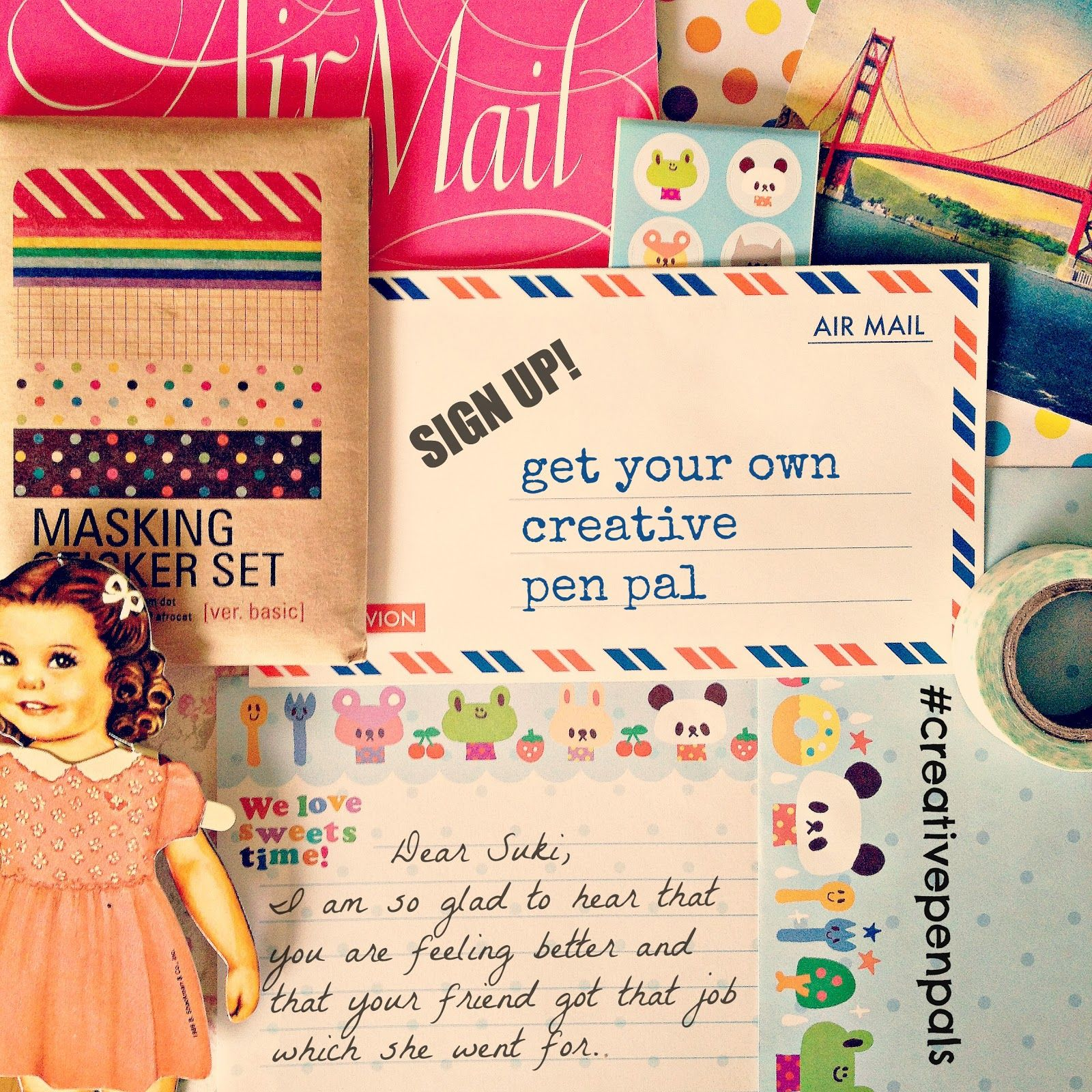 The Craft Revival: creative pen pals [sign up!] | Pen Pals