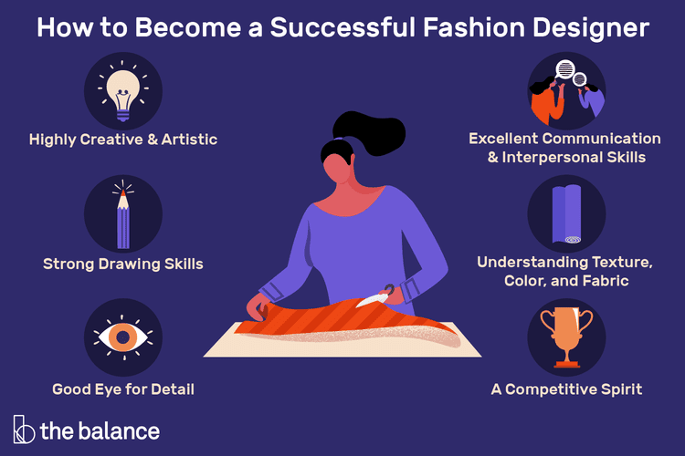 10 Skills You Need To Become A Successful Fashion Designer Become A Fashion Designer Fashion Design How To Become Successful