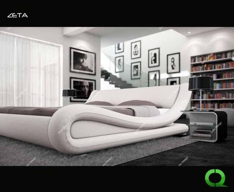 Design Betten aus 1000 und 1 Nacht!  Qubo Home in Hamburg sorgt für ein modernes Schlafzimmer.