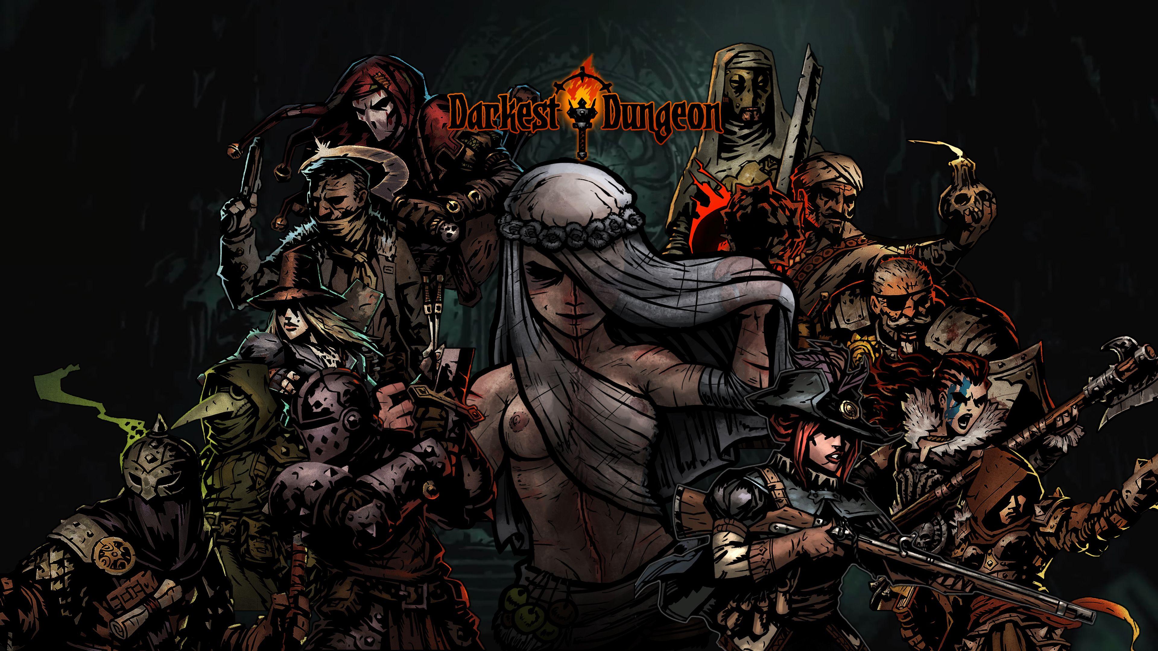 Darkest Dungeon Wallpaper 4k Darkest dungeon, Dungeon
