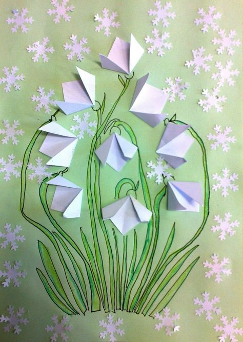 Photo of Make snowdrops in spring – craft ideas for young and old