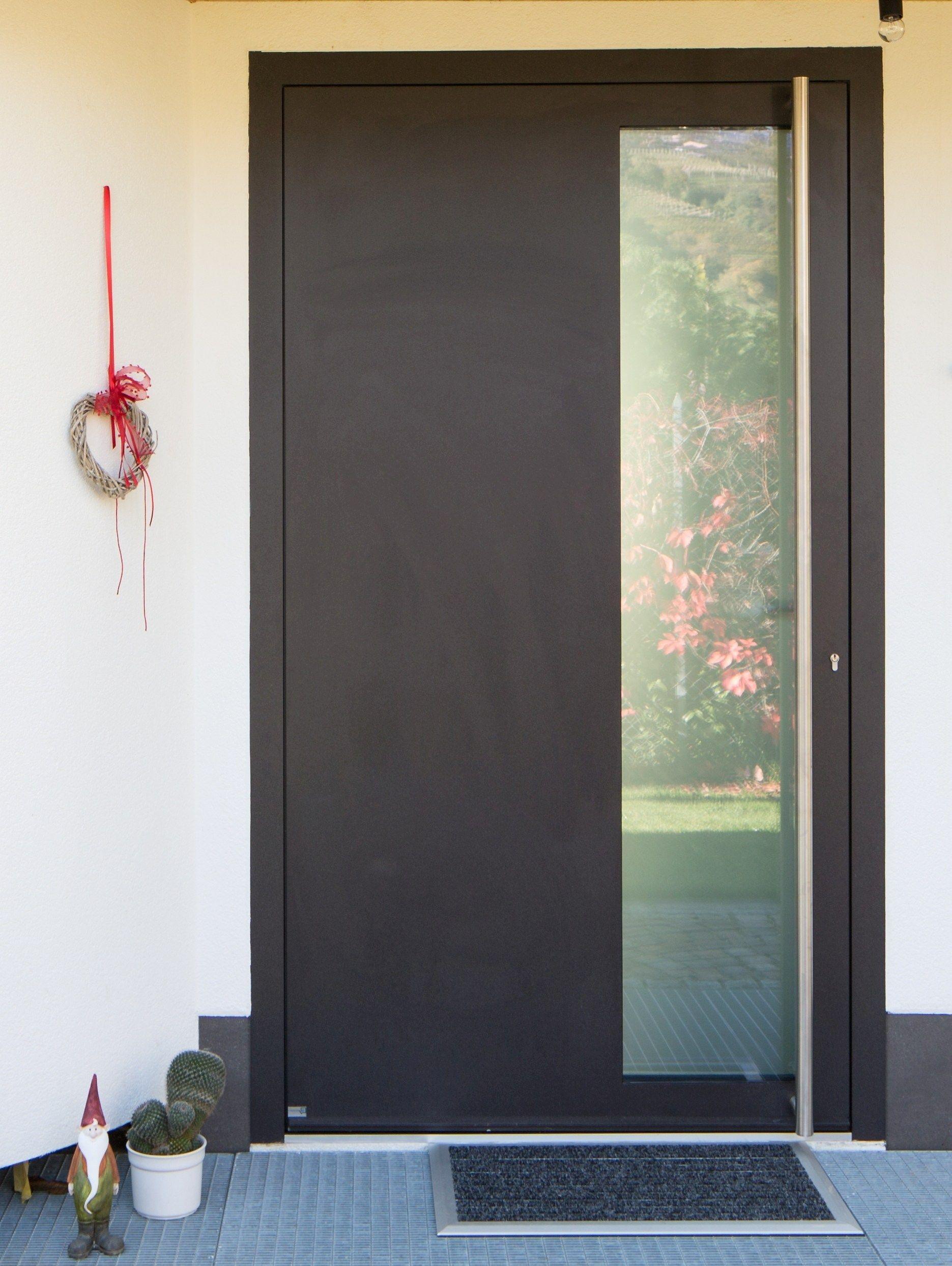 Puerta aluminio exterior buscar con google puertas de for Puertas metalicas entrada principal