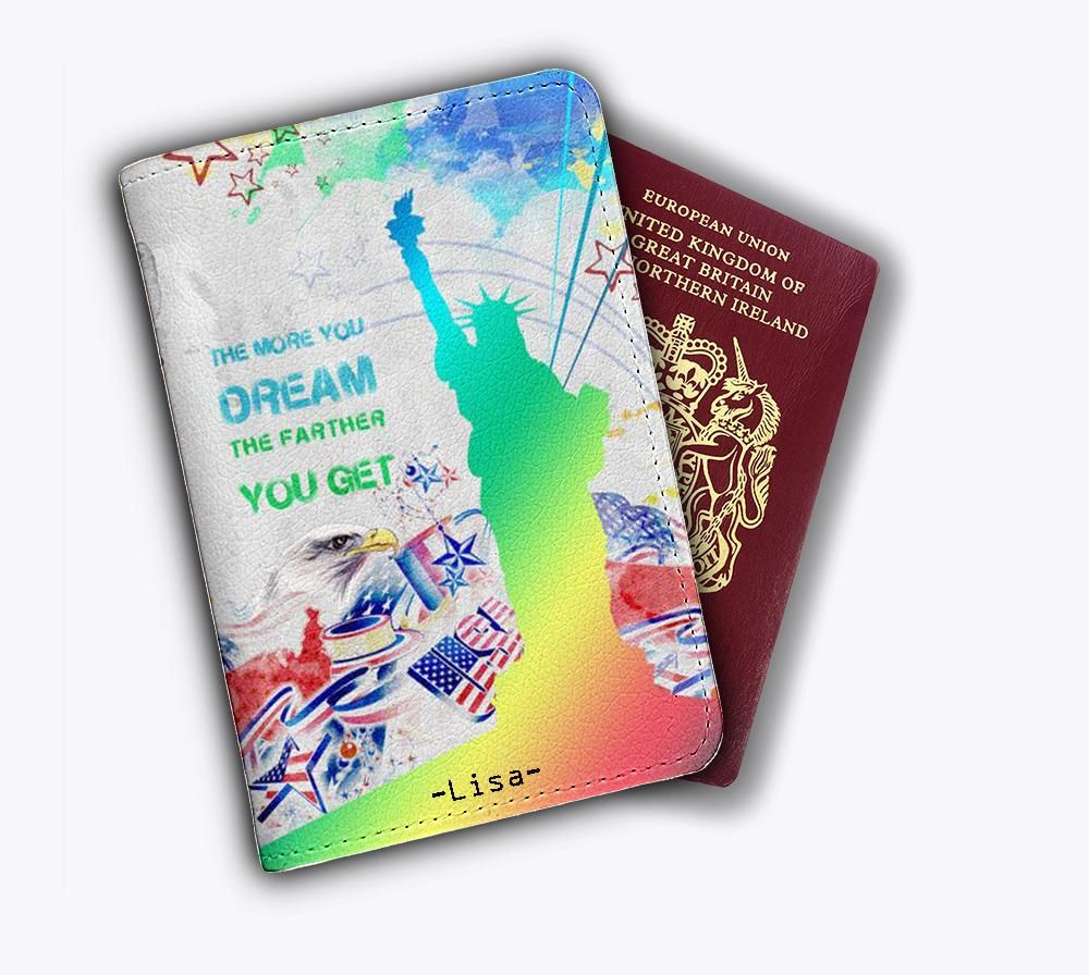 New York Cute Passport Covers Holder Wallet Travel Accessories
