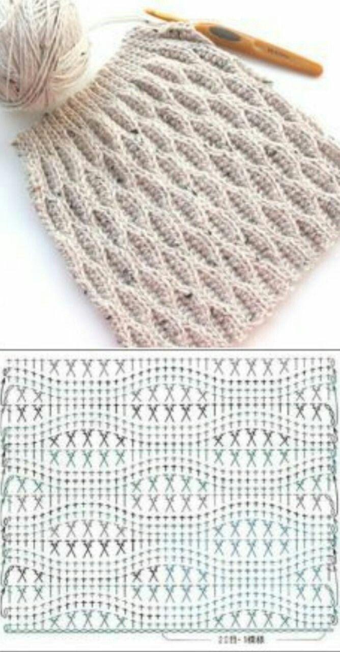Pin de Pilar Gomez en Todo Crochet | Pinterest | Como tejer gorros ...