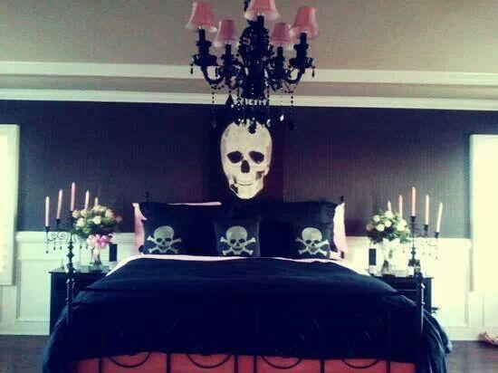 Great Skull Bedroom ♥