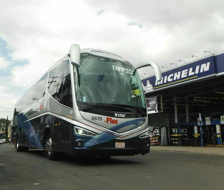 Volvo irizar i8 ómnibus de México plus número 5576