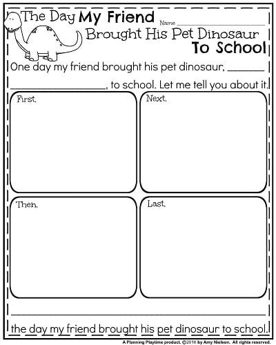 End of the Year Writing Prompts | First Grade Activities
