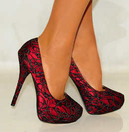 6fad1d2db4c Ruby Red Heels Click your heels 3 times and say