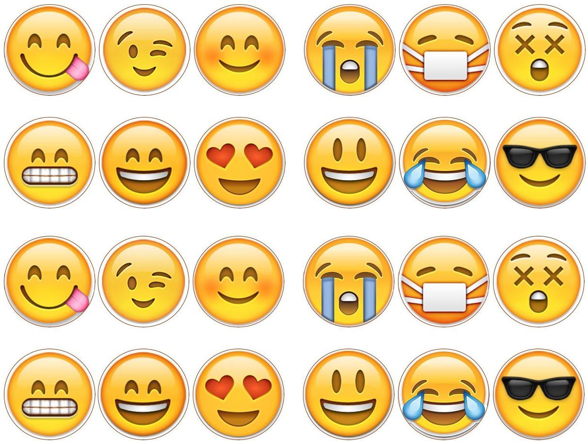 graphic about Large Printable Emojis identified as 100+ Massive Printable Emojis yasminroohi