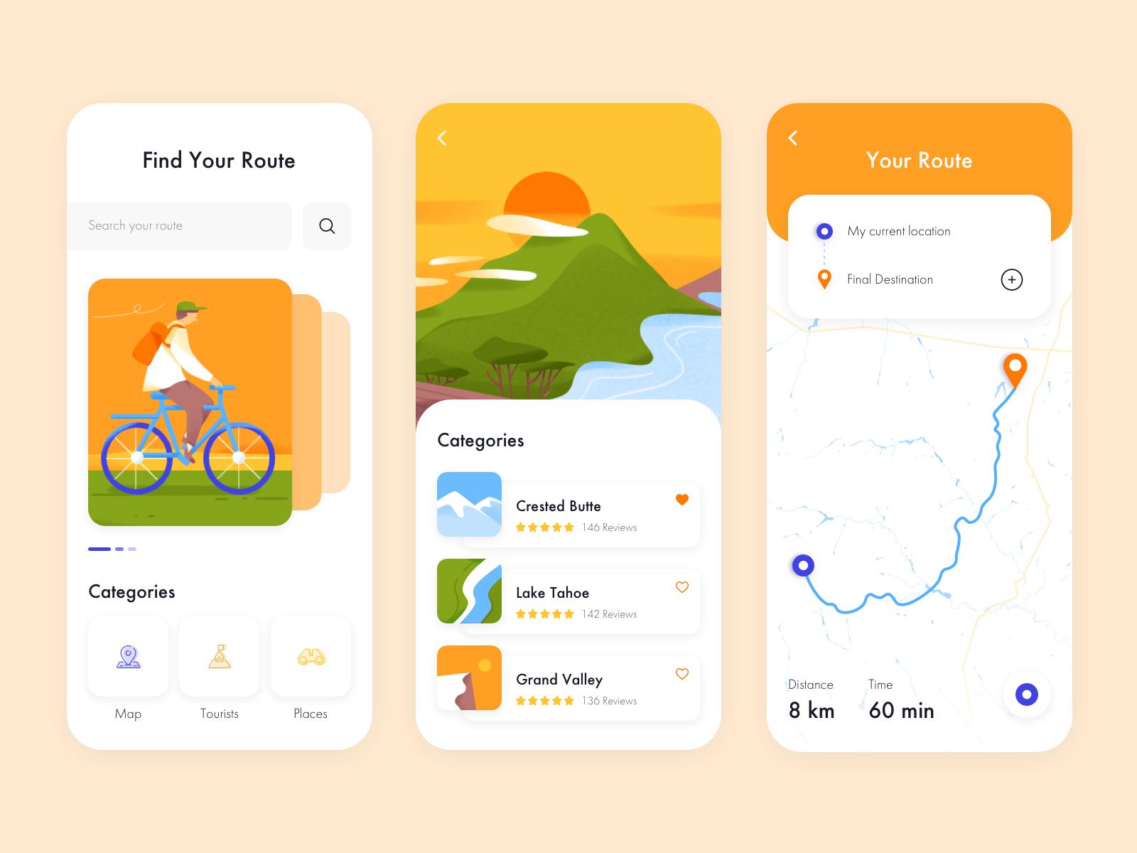 Mobile App Bikemap Em 2020