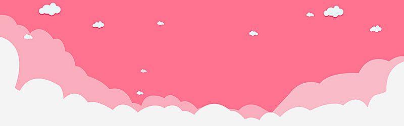 Multfilm Rozovye Prostye Deti Fon Banner Design Layout Twitter Header Pictures Cute Twitter Headers