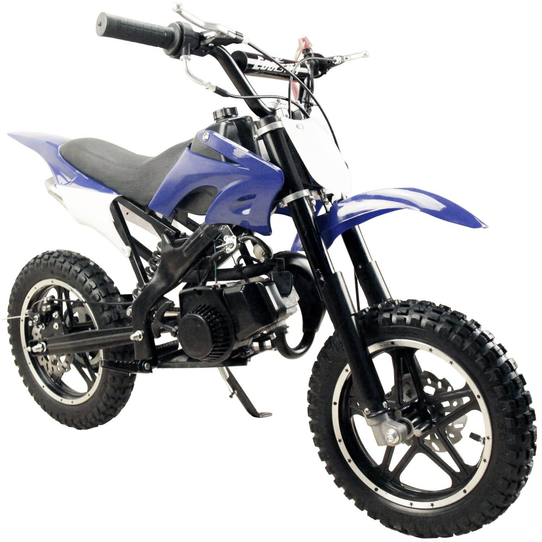 49 50cc High Performance Blue 2 Stroke Gas Motorized Mini Pocket