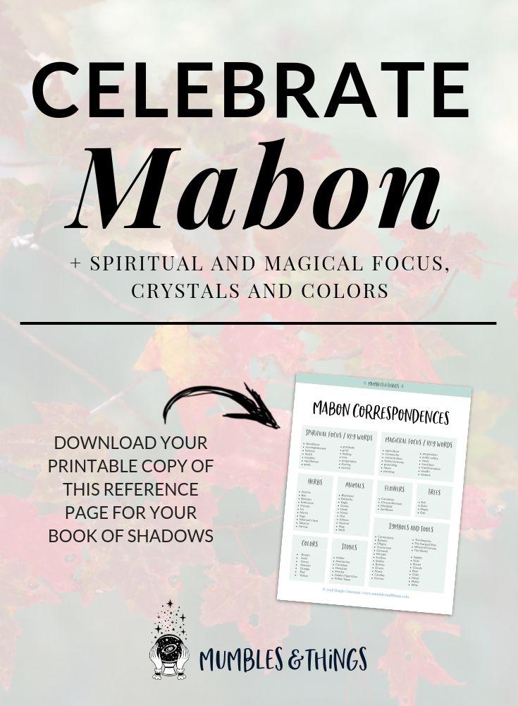 10 Ways to Celebrate Mabon and The Autumn Equinox #autumnalequinox