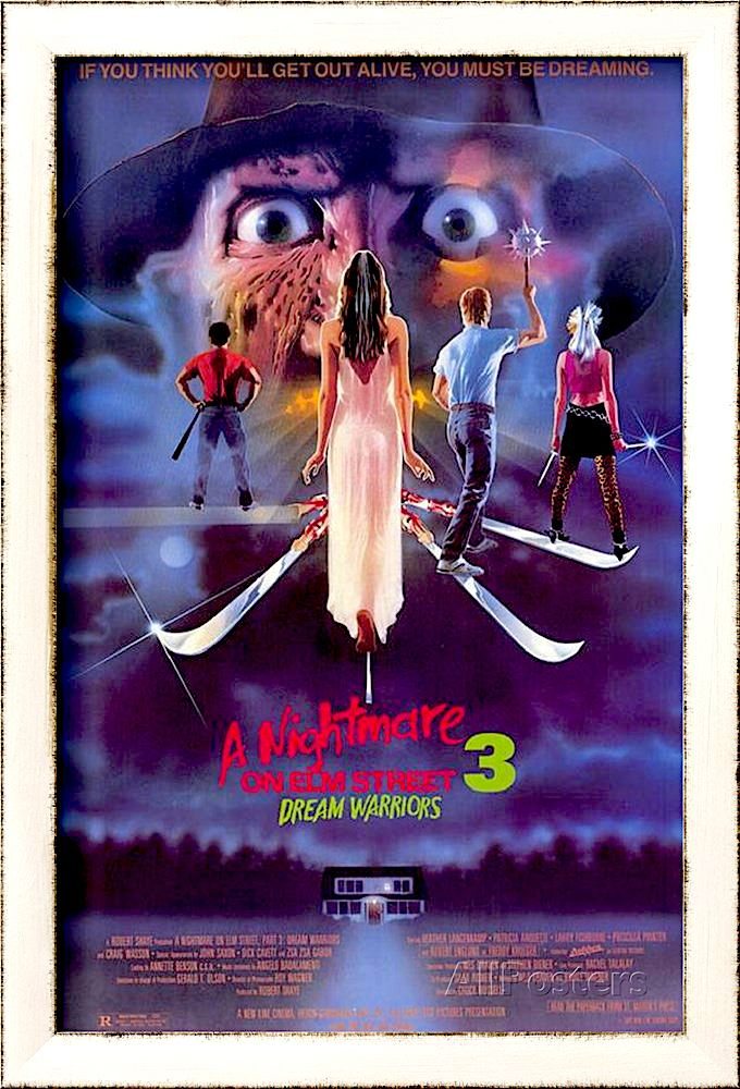 A Nightmare On Elm Street 3 Dream Warriors Movie Poster Movie