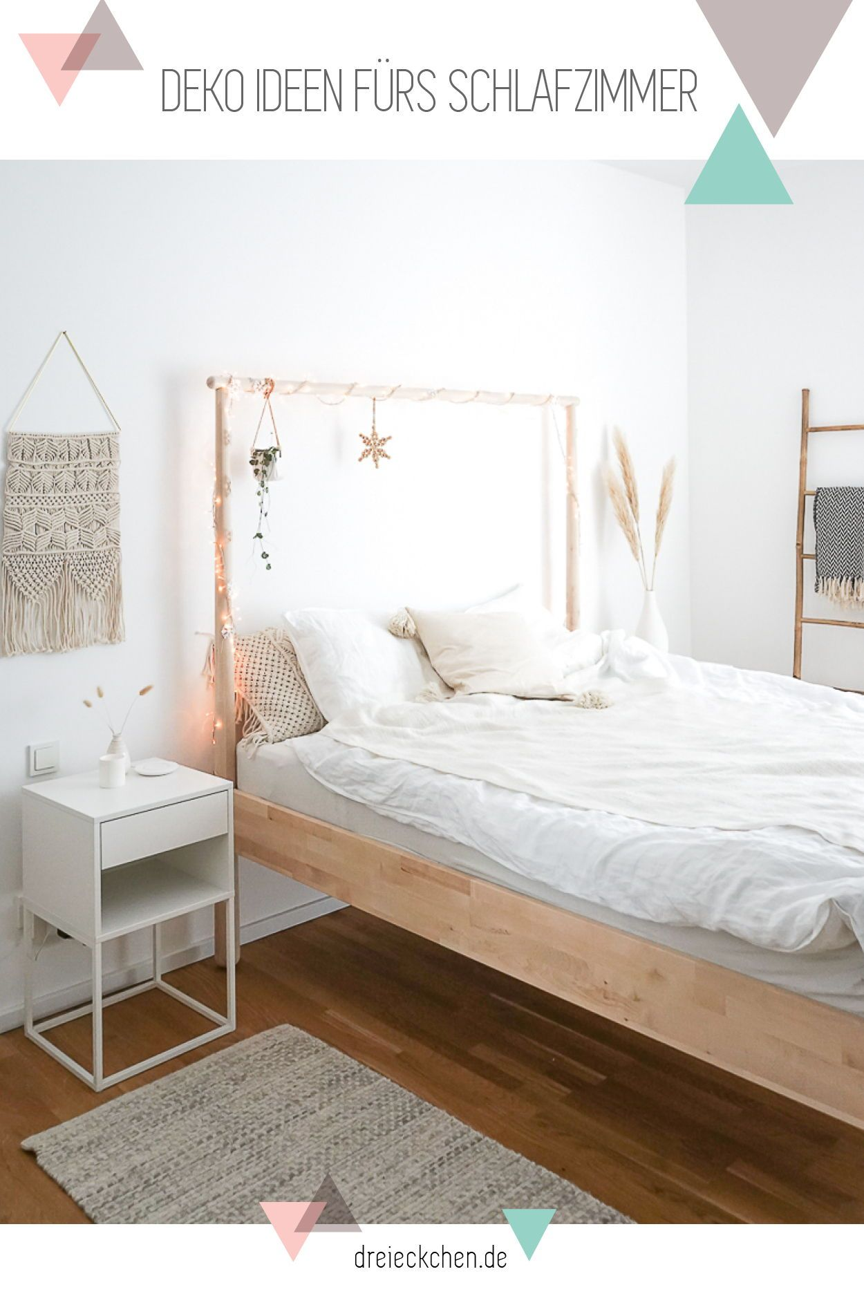 Gemütliche Deko Ideen fürs Schlafzimmer: