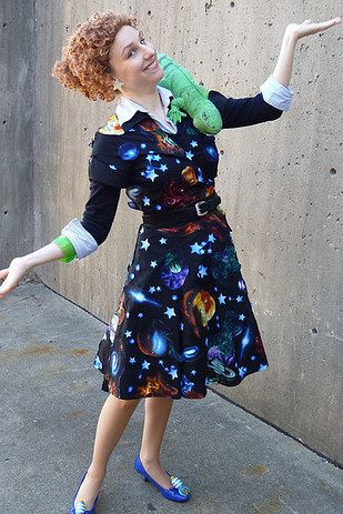 this ms frizzle who will take you right back to your childhood 24 halloween costumes that will make you do a double take