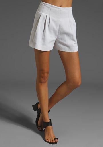 White Shorts // Rogan