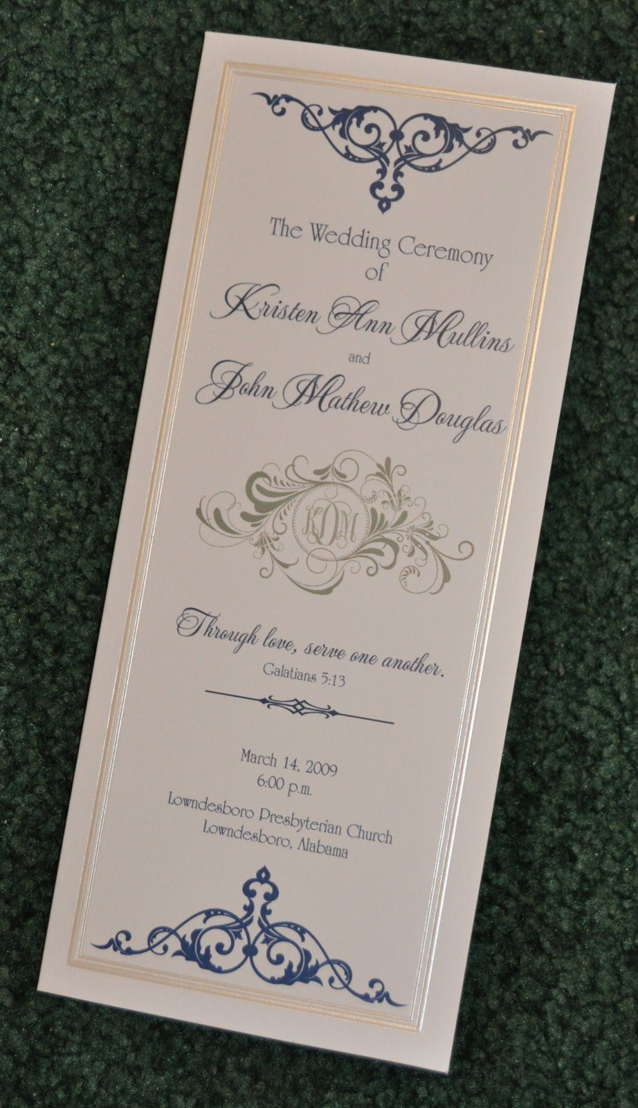 movie ticket stub wedding invitation%0A Wedding