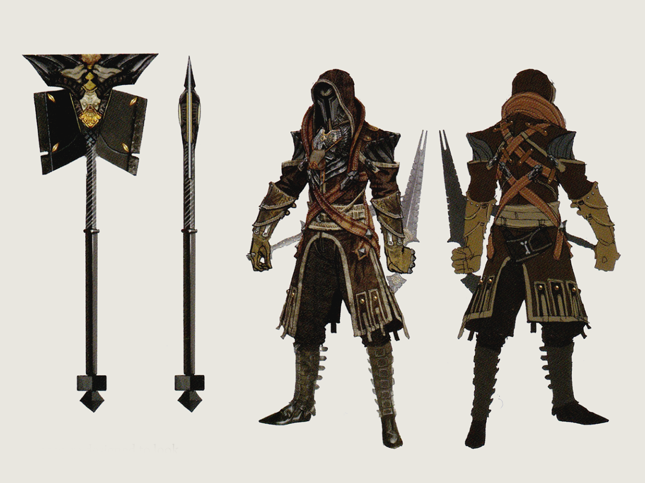 Dragon Age Concept Art Clothing Tevinter