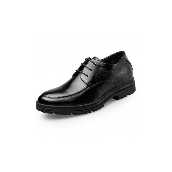 Winter Elevator Dress Shoes Lace Up Taller Formal Shoes