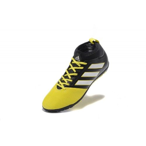 buy online 7cb22 2472e Discount Adidas ACE 17.3 TF Black Yellow Football Boots