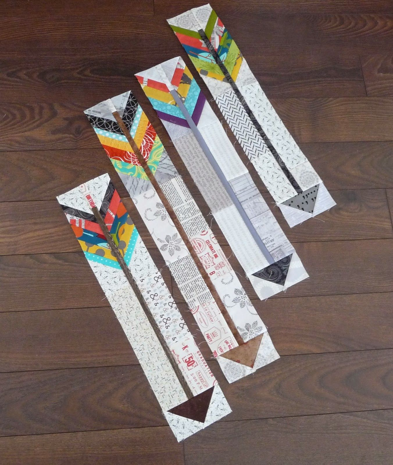 Beautiful Little Arrows With A Tutorial By Carla Of Grace And