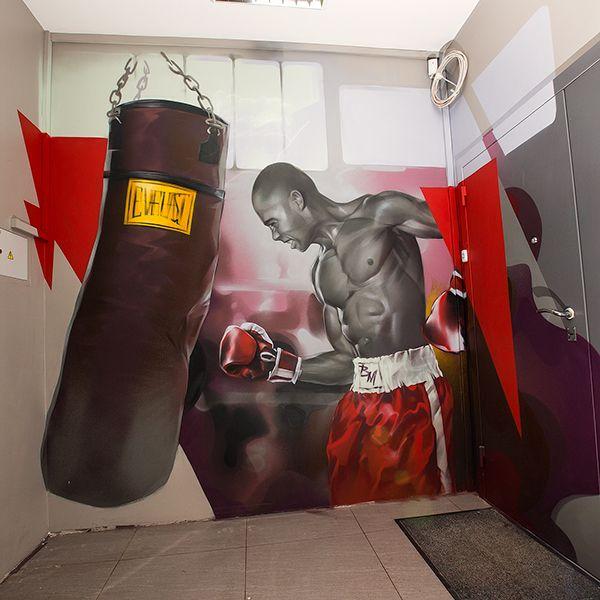 Boxing on Behance
