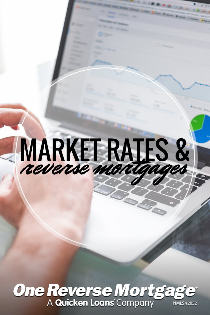 learn how market rates affect reverse mortgages and what happens if