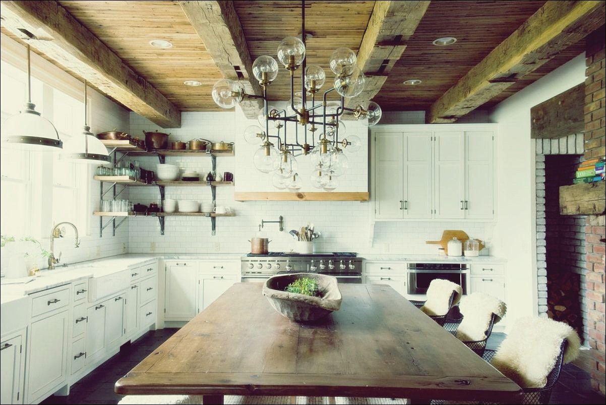 10 Beste Bodenbelage Fur Ihre Rustikale Kuche Bauernhaus Kuchen Dekor Gemauerte Kuche Kuchentrends
