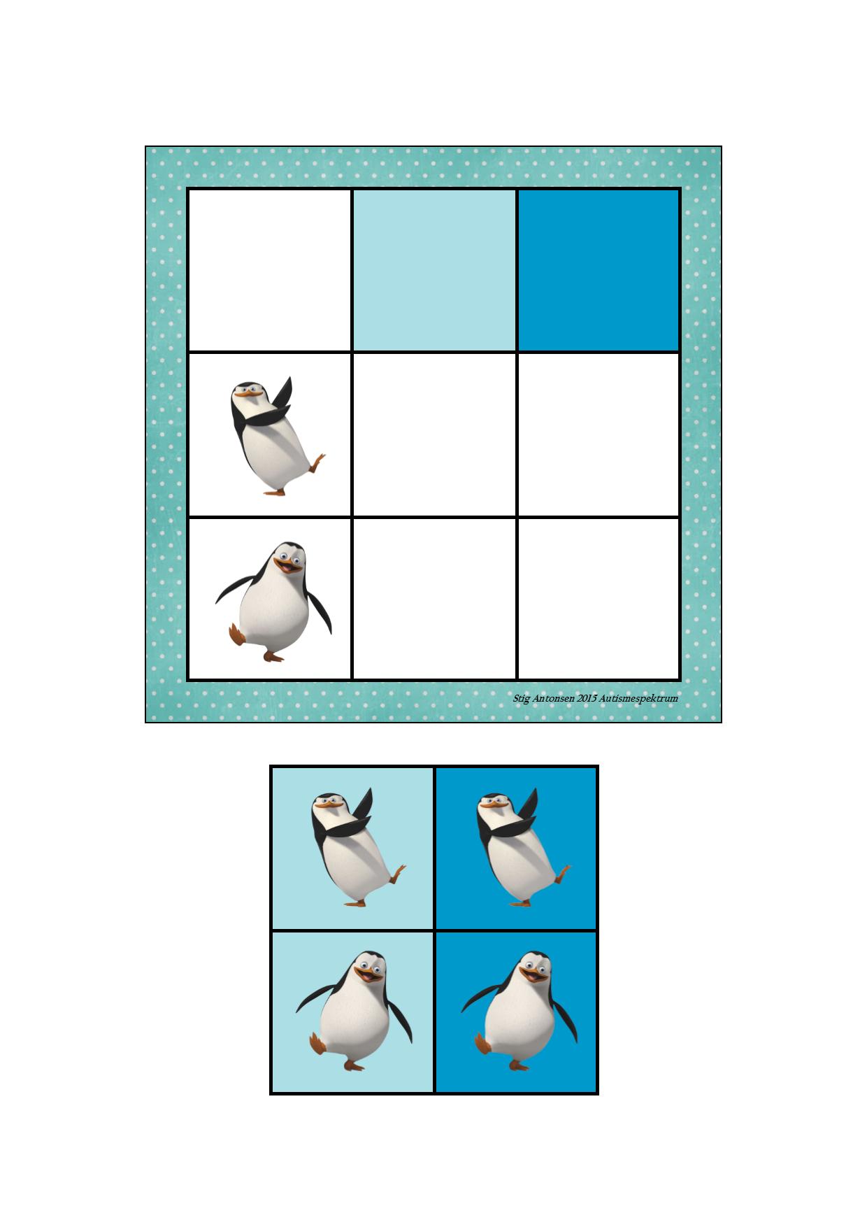 2016-02) Pingviner og baggrundsfarve | zvieratá | Pinterest | Logic ...