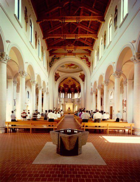 Saint Joseph Abbey Church Renovation,  Saint Benedict, Louisiana.