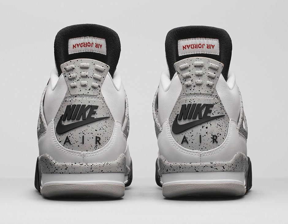29f633d88f69 Nike Air Jordan 4 OG  89 Retro – White Cement