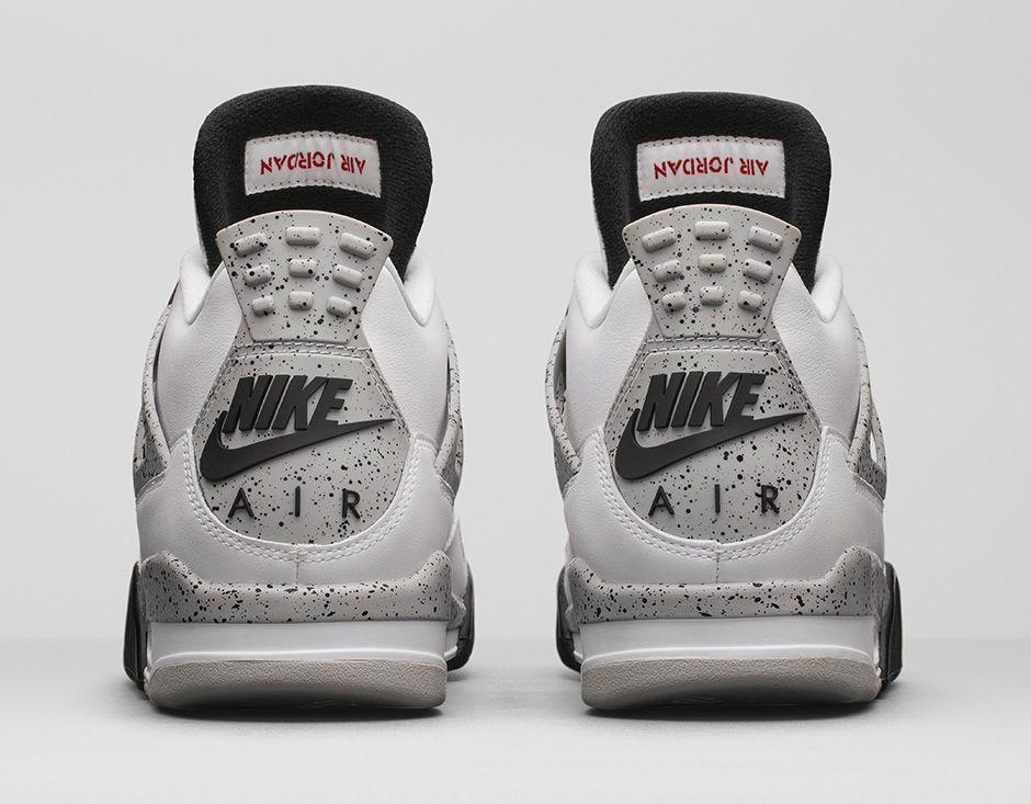Nike Air Jordan 4 Bgames Ciment Blanc Rétro Og meilleure vente meilleur m3WS59S