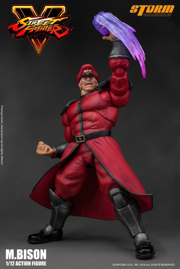 Street Fighter 1 12 Scale M Bison Figure From Storm Collectibles